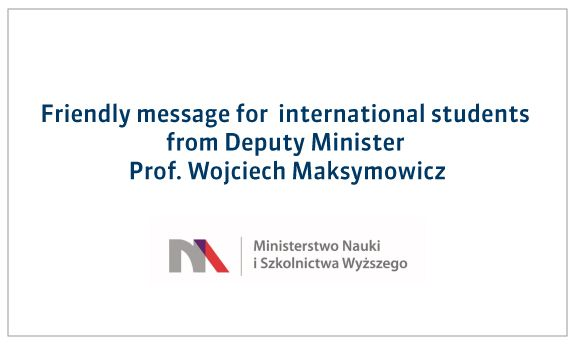 Message for international students