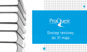 Dostęp testowy do ProQuest i Ebook Central