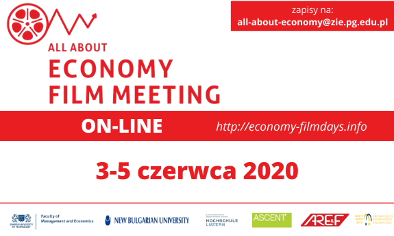 Zapraszamy na All About Economy Film Meeting ON LINE!