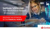 Stypendia Santander Tech Revolution in Finance - IE University
