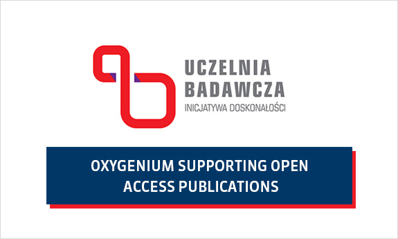 Program OXYGENIUM SUPPORTING OPEN ACCESS PUBLICATIONS na finansowanie opłat open access