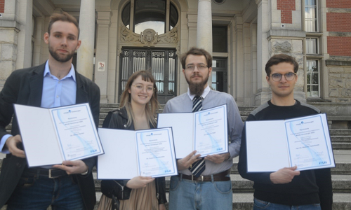 "Graduates from the Faculty of Electrical and Control Engineering among the winners of the national competition for the best diploma thesis ""Young Innovative"" (2020 edition)"