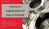 Legalization of stay - webinar, 16.10.2020