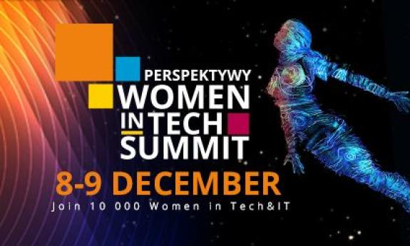 Perspektywy Women in Tech Summit. Join 10,000 women in Tech & IT, visit job fairs and boost your career!