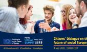"""Virtual citizens' dialogue """"Young people and the future of social Europe"""""""