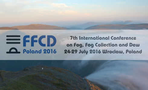7th International Conference on Fog, Fog Collection and Dew