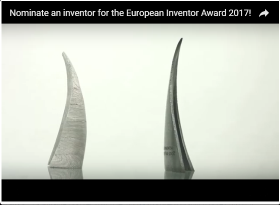 European Inventor Award 2017