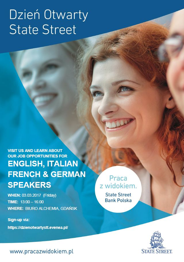 Open Day with Languages w State Street Bank
