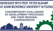 WORKSHOP WITH PROF. PETER NIJKAMP