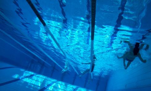 Swimming Pool open in the summer
