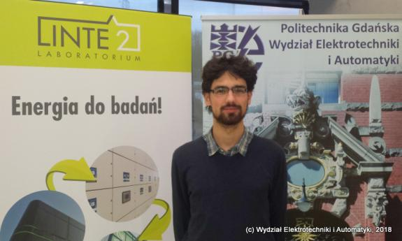 A student from the Faculty of Electrical and Control Engineering recieved the Mayor of the city of Gdańsk scholarship