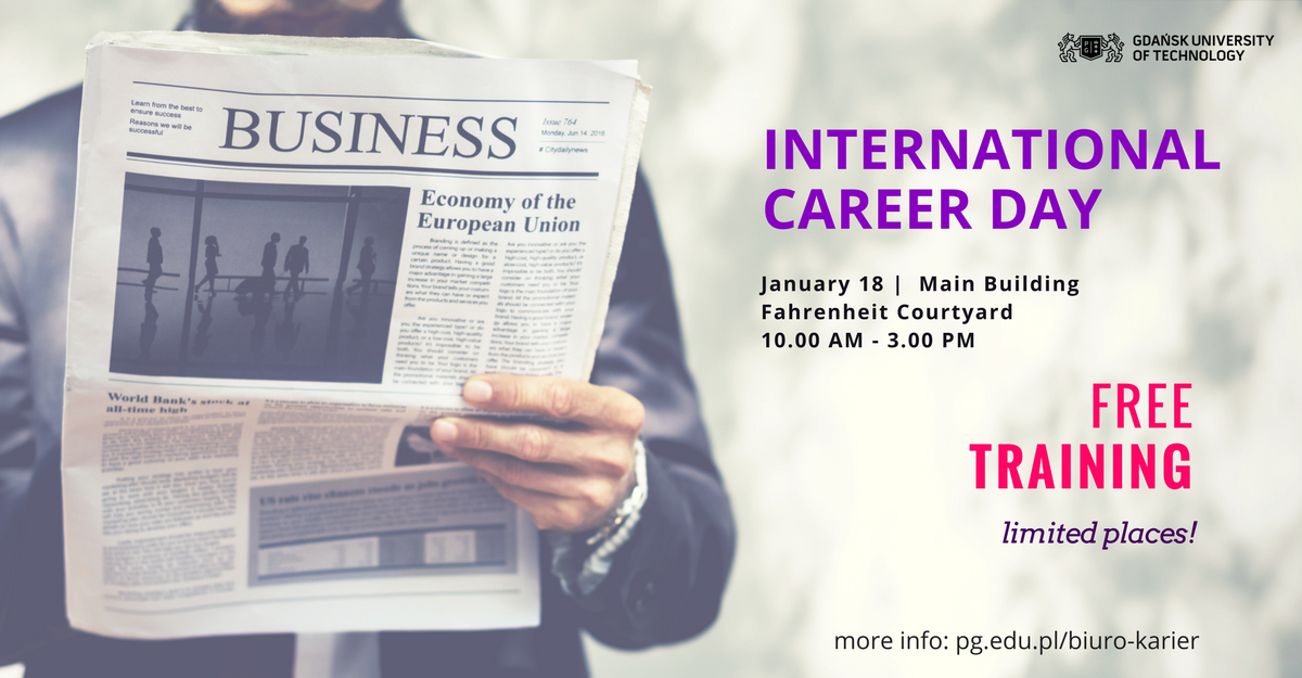 International Career Day - on 18/01/2018