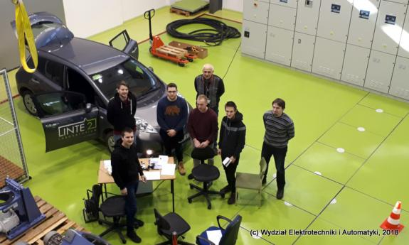 Student team project carried out at the LINTE^2 Laboratory