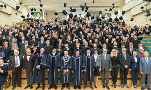Graduation ceremony at the Faculty of Electrical and Control Engineering 2017/2018