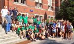 Polish Scouting Association with a visit to the Faculty of Electrical and Control Engineering