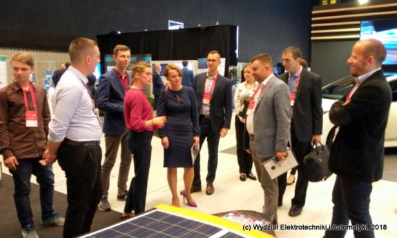Inventions from the Faculty of Electrical and Control Engineering at the Impact mobility rEVolution'18 congress