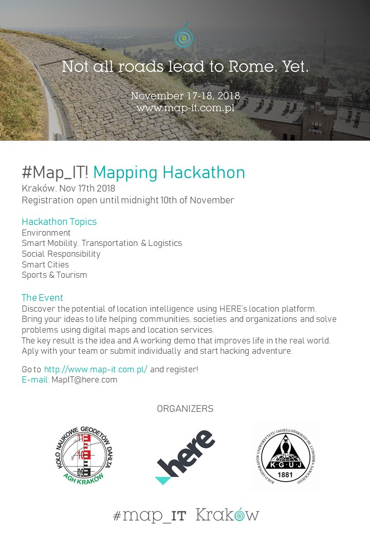 #Map_IT!Mapping Hackathon