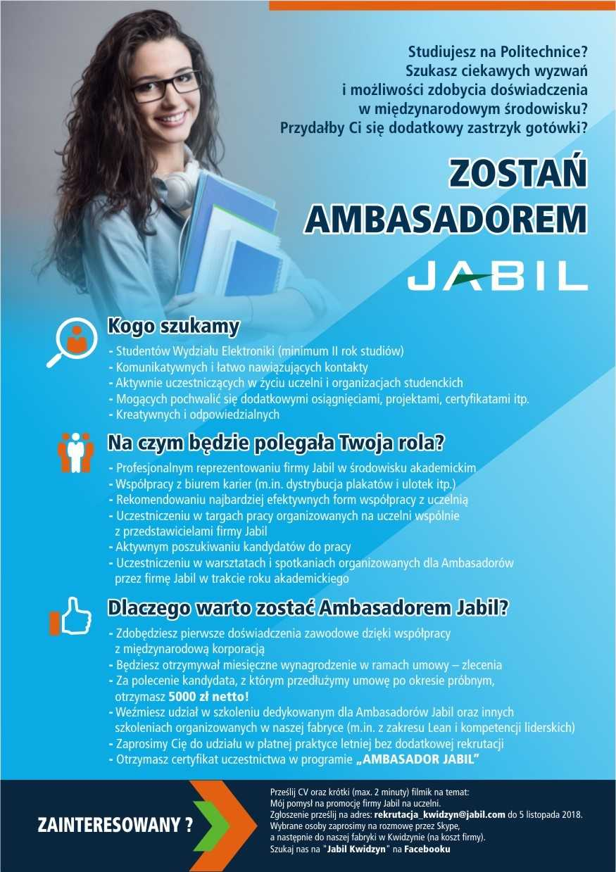 "Program ""Ambasador Jabil"""