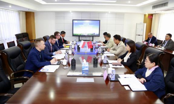 Agreement of cooperation between the Faculty of Electrical and Control Engineering and the University of Dezhou in China