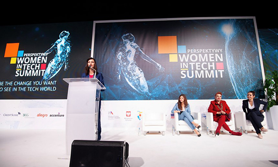 Politechnika Gdańska partnerem Perspektywy Women in Tech Summit