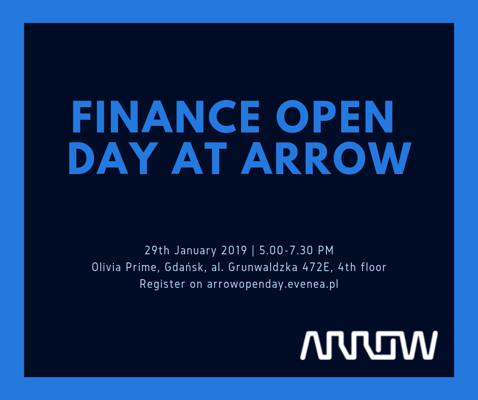 FINANCE OPEN DAY AT ARROW