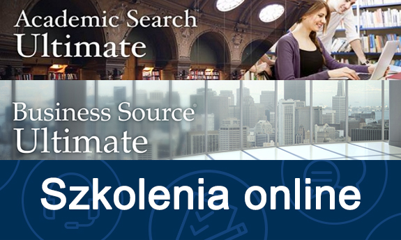 Zapraszamy na szkolenia online z baz Academic Search Ultimate oraz Business Source Ultimate