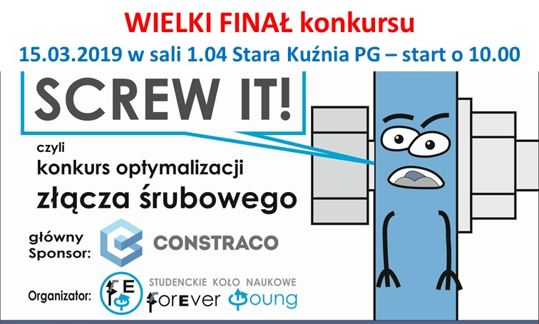 Finał konkursu SCREW IT! 2019