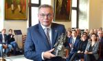 Prof. Piotr Dominiak Received the Johannes Hevelius Scientific Award of the City of Gdańsk