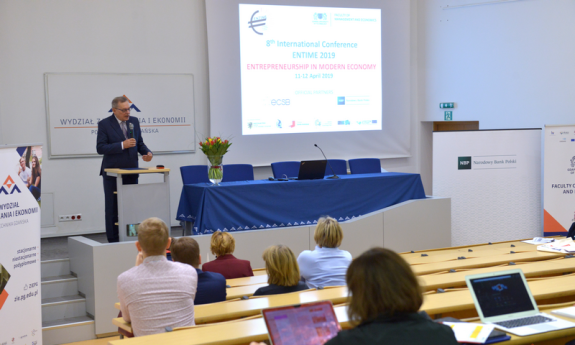 RELATION FROM THE VIII INTERNATIONAL ENTIME CONFERENCE - ENTERPRISE IN THE MODERN ECONOMY
