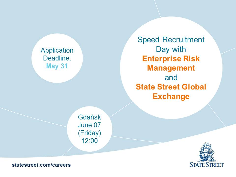 Speed Recruitment Day with ERM and SSGX in Gdańsk