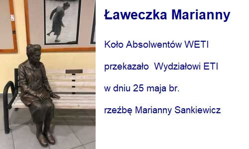 Ławeczka Marianny