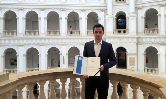 Graduate of the Faculty of Electrical and Control Engineering won the Siemens Award