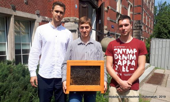 Innovative monitoring system for beehive parameters developed at the Faculty of Electrical and Control Engineering