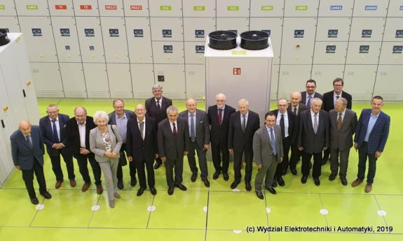 Meeting of the Committee of Electrotechnics of the Polish Academy of Sciences in the LINTE^2 Laboratory