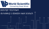 Dostęp testowy do bazy World Scientific Publication