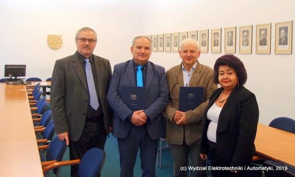 Cooperation agreement between the Faculty of Electrical and Control Engineering and the Regional Office of Measures in Gdańsk