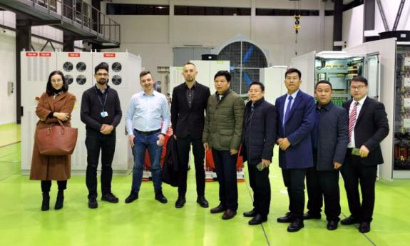 Visit of representatives of Hunan University of Humanities, Science and Technology from China at the Faculty of Electrical and Control Engineering