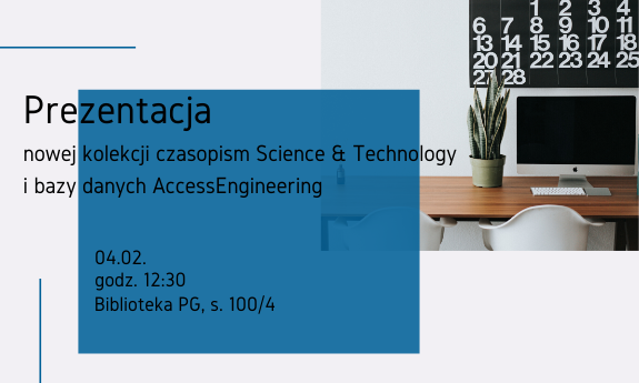Prezentacja Science and Technology i AccessEngineering